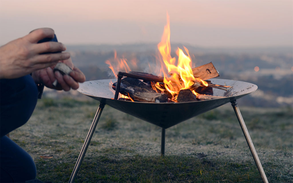 Hearthworks Tipi fire dish